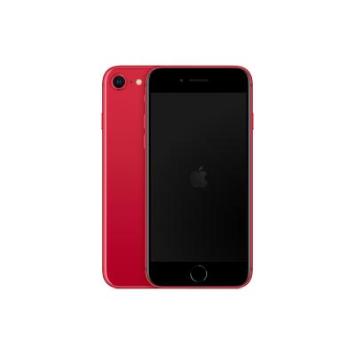 iPhone SE de cor vermelha com capacidade de 128 Gb